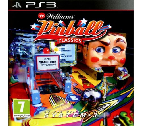 G.A.M.E. Williams Pinball Classic (PS3)