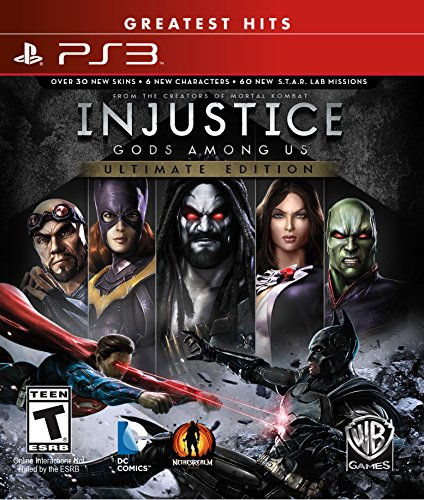 Warner Bros. Injustice: Gods Among Us Ultimate Edition - PlayStation 3 (Greatest Hits)