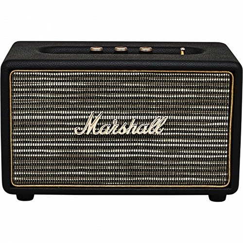 Marshall Acton M-ACCS-10126 Wireless Bluetooth Digital Speaker Loudspeaker System (Black)