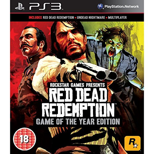 Rockstar Games Red Dead Redemption (PS3) [Game of the Year GOTY Edition] (PS3)