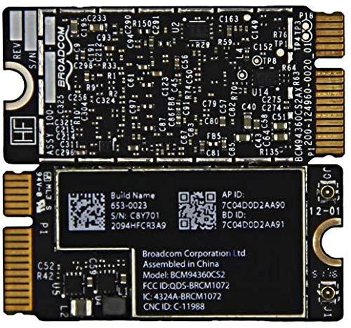 """#TR BCM94360CS2 WiFi Bluetooth Airport Wireless Card for MacBook Air 11"""" A1465 (2013, 2014, 2015) 13"""" A1466 (2013, 2014, 2015, 2017) (661-7465, 661-7481, 653-0023)"""