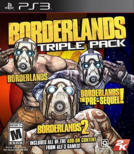 Take 2 Borderlands Triple Pack