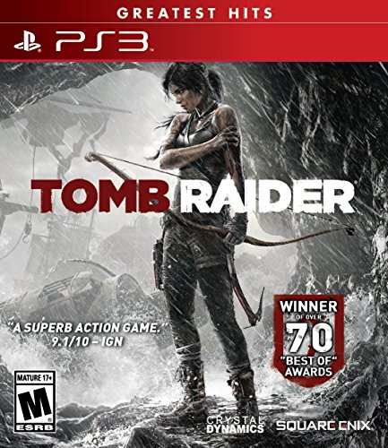 Square Tomb Raider Greatest Hits (PS3)