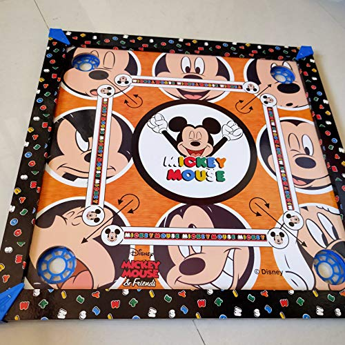 teehee The Mind sharping Carrom Game of Micky Mouse Print with Snake and Ladder