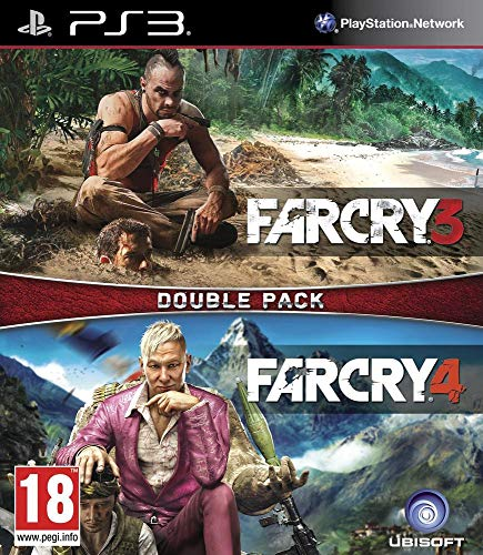 UBI Soft far cry 3 + far cry 4 double pack ps3 (PS3)