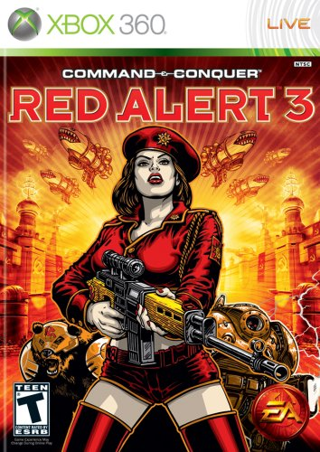 Electronic Arts Command and Conquer Red Alert 3 (Xbox 360)