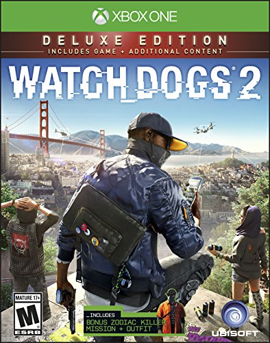UBI Soft Watch Dogs 2: Deluxe Edition (Includes Extra Content) - Xbox One Ubisoft