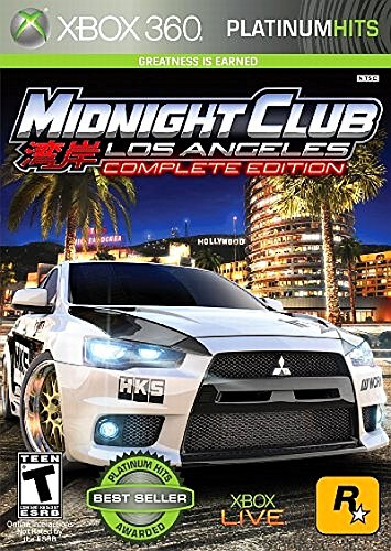 ROCKSTAR GAMES Midnight Club: Los Angeles (Platinum Hits)