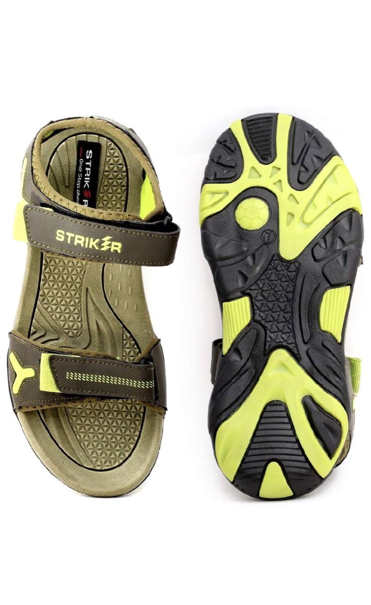 as8creation Striker Mens Sandals(9026 Olive)