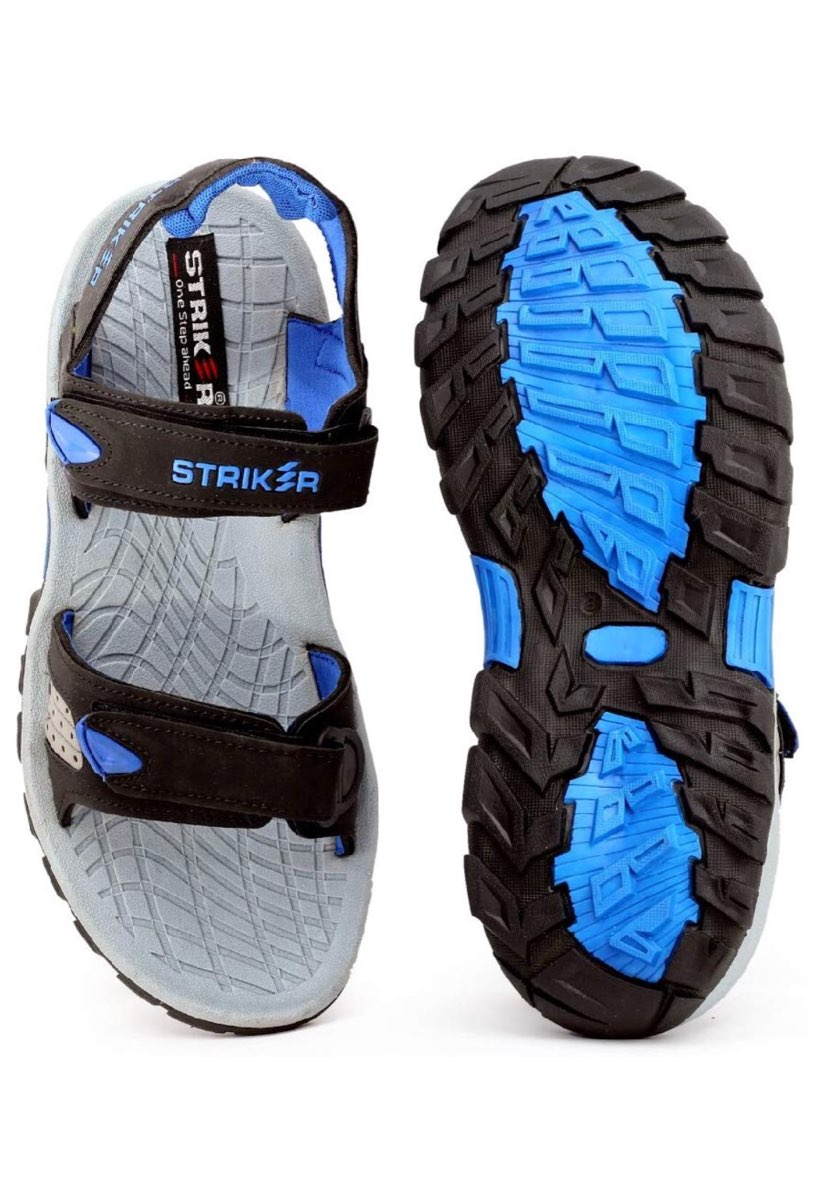 as8creation Striker Mens Sandals(9045 Blue/bulk)