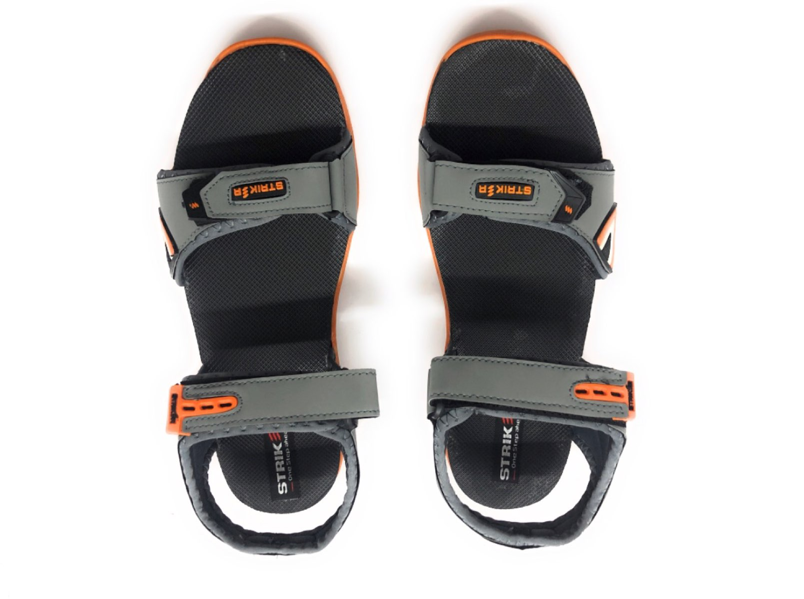 as8creation Striker Mens Sandals(9062 Grey)