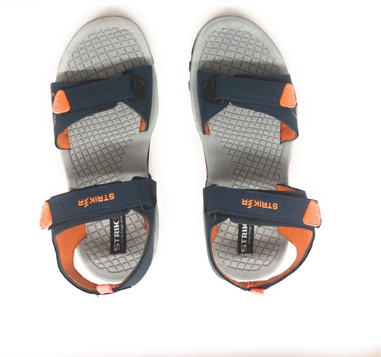 as8creation Striker Mens Sandals(9042 Blu/org)
