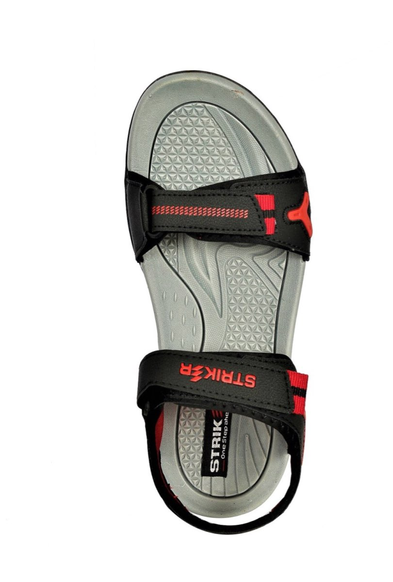 as8creation Striker Mens Sandals (9026 Black)