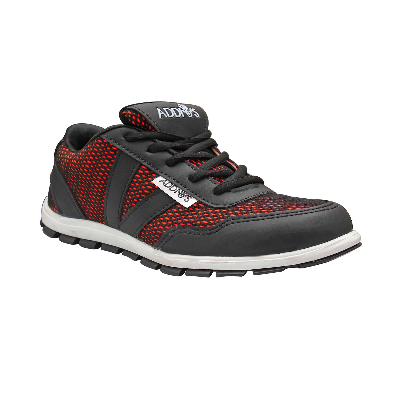 Addios Women Red Running Shoe