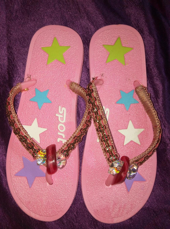 dgacreations Macrame Flip Flops
