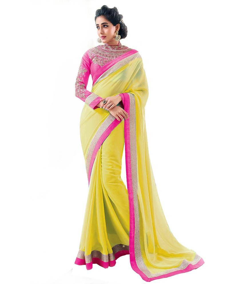 bhavnacreation Bhavna Creation's Brand New Collection Of Designer Sarees With Blouse Piece