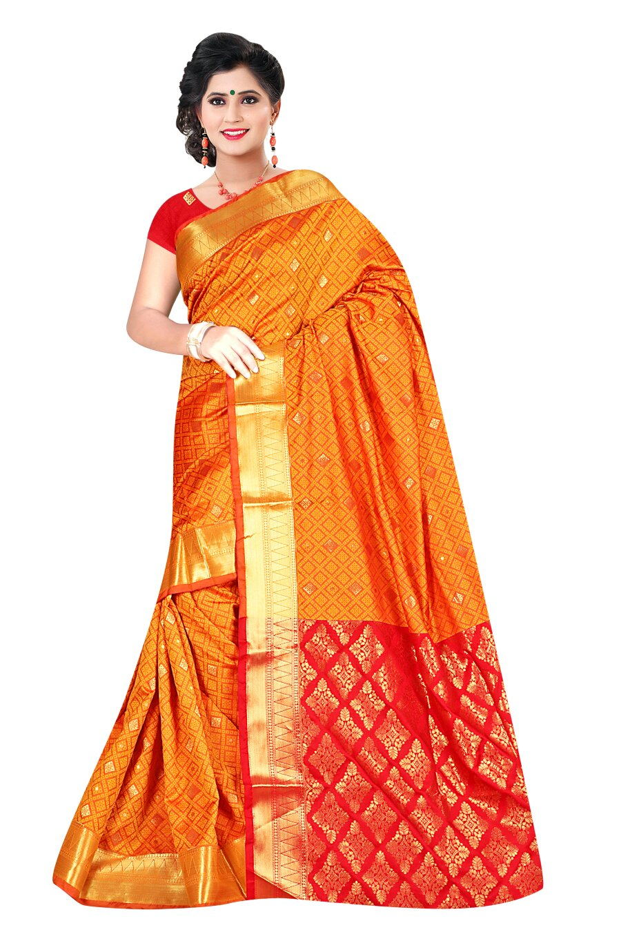 richasarees Richa Fancy Designer Silk Sarees