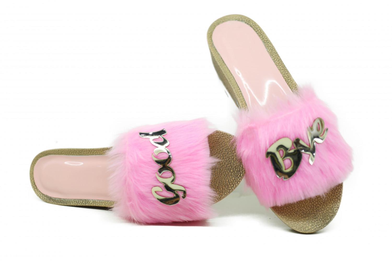 hienbuy Hie'n'buy Brand New Comfortable Home Fur Slippers