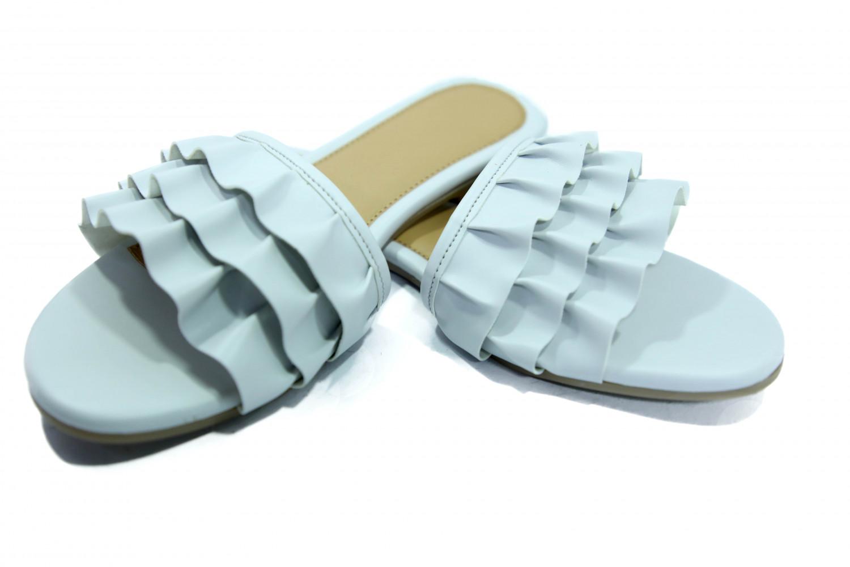 hienbuy Brand New Hie'n'buy Flair Flat Slipper For Girls (blue)