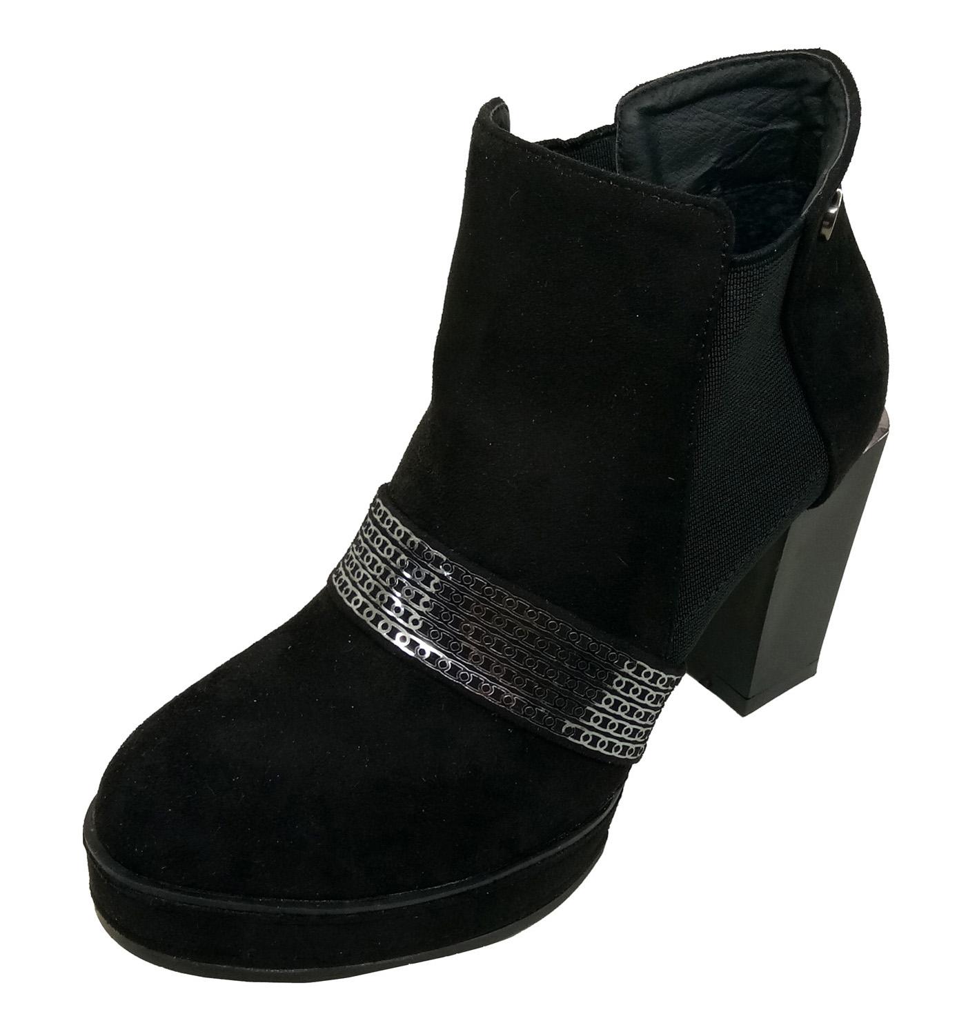 hienbuy Women Casual Heeled Boots