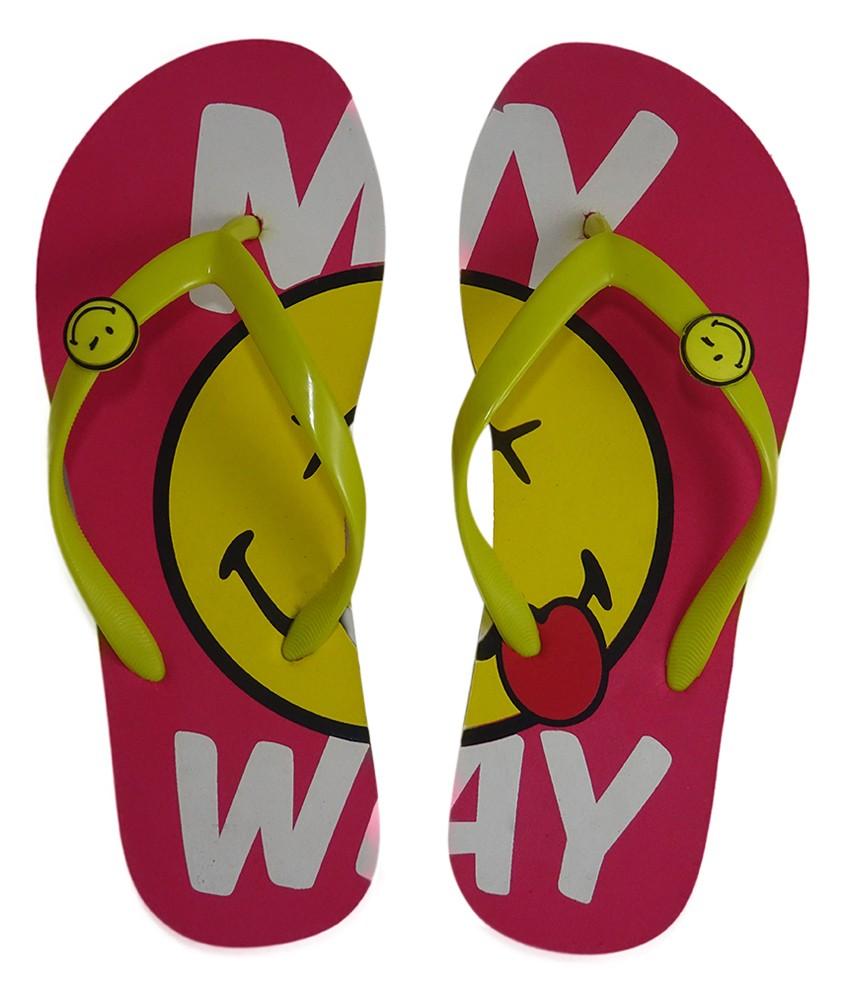s2w Smiley Women's My Way Flip Flops