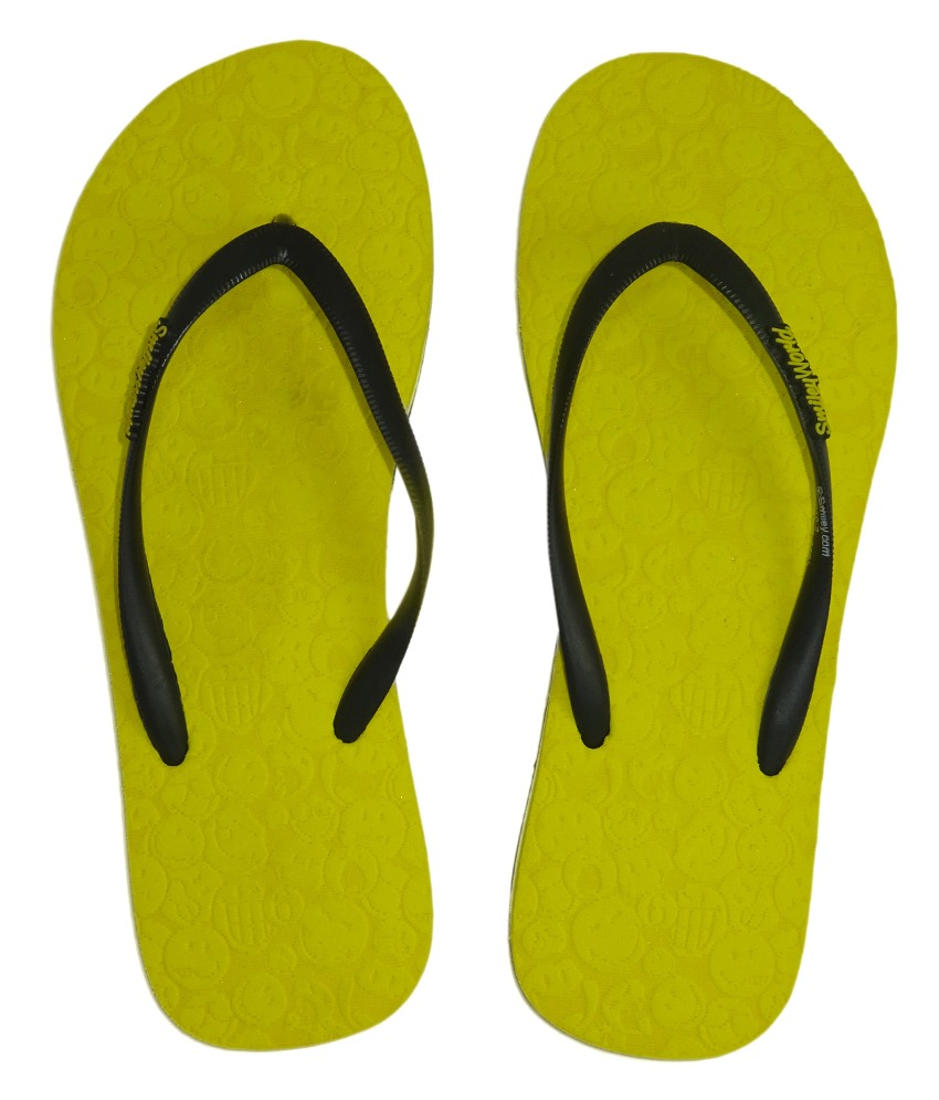 s2w Smiley Women's Lazer Flip Flops