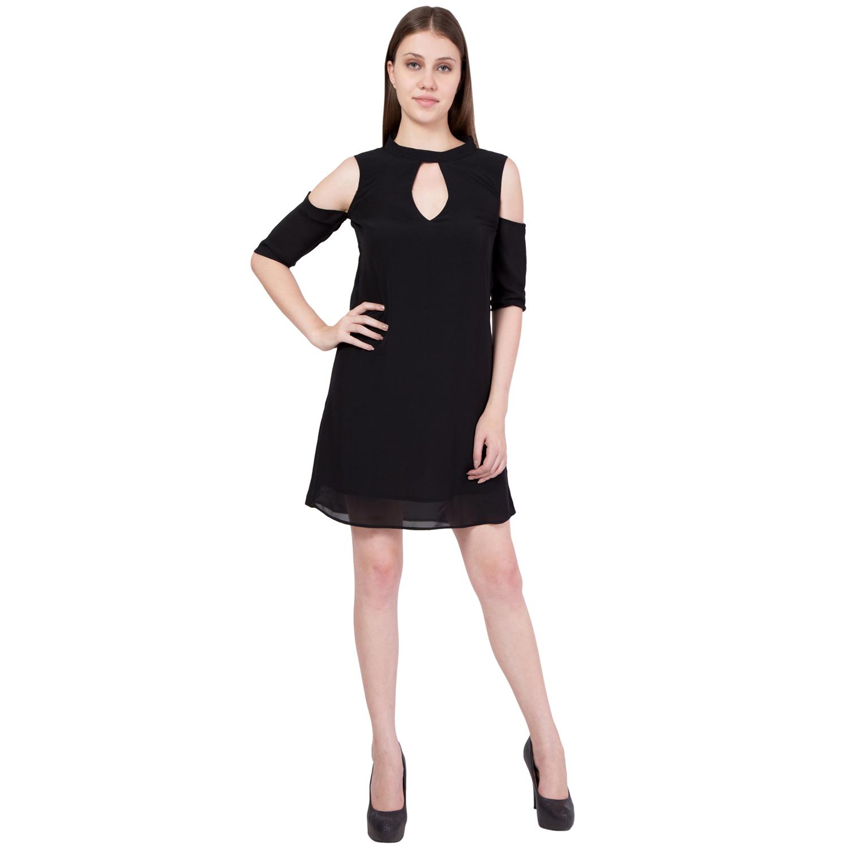 simbhacreations Simbha Women's Little Black Dress