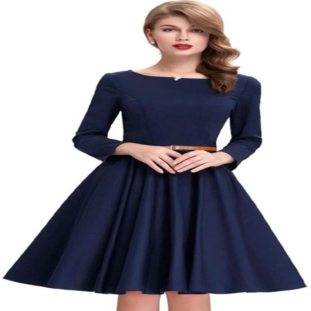 priyafashion Twinsbirds New Blue Satin Designer Western Dress