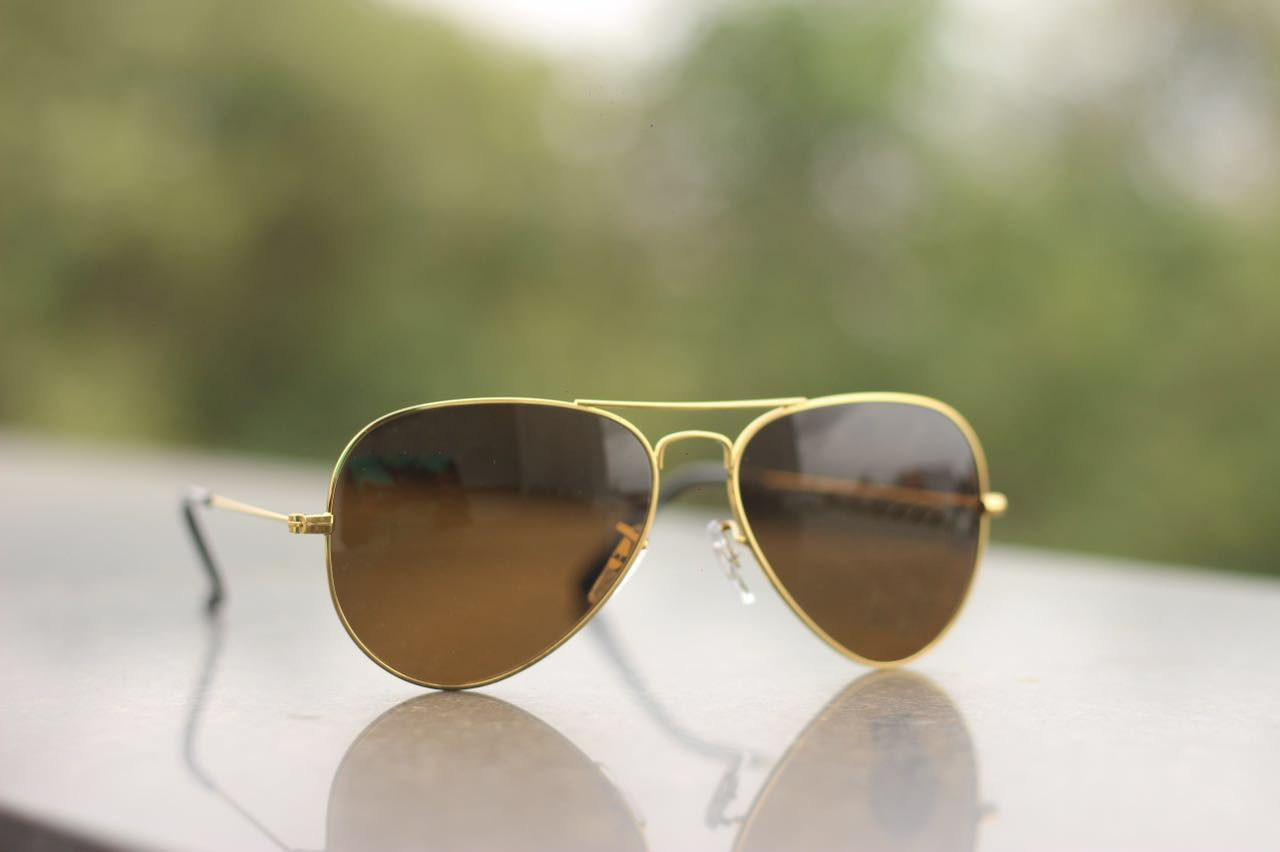 luxurystore Brown Super Look Hot Sunglasses W0118