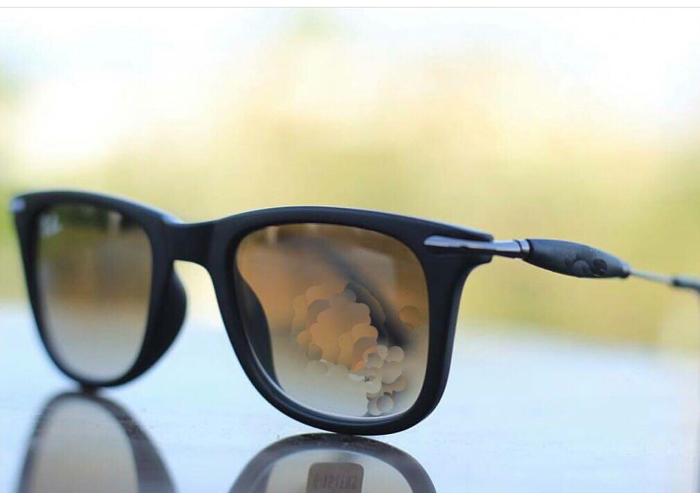 luxurystore Golden And Gold Stylish Sunglasses W 0305