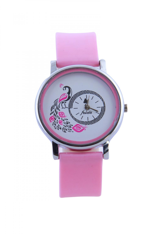 luxurystore Luxury Pink Diamond Steel Belt Watch For Men 010