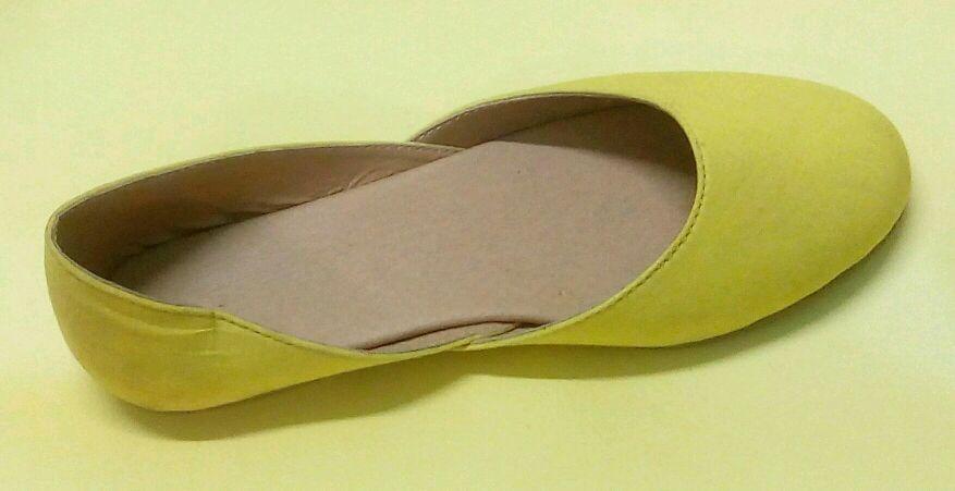 anshicreations Designer Jutti In Yellow