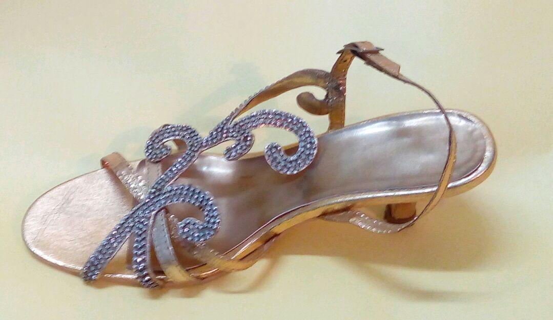 anshicreations Designer Embroidered Bridal Sandals