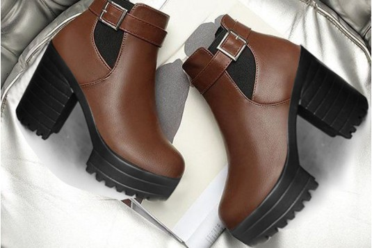 zyh Style On File Brown Boots