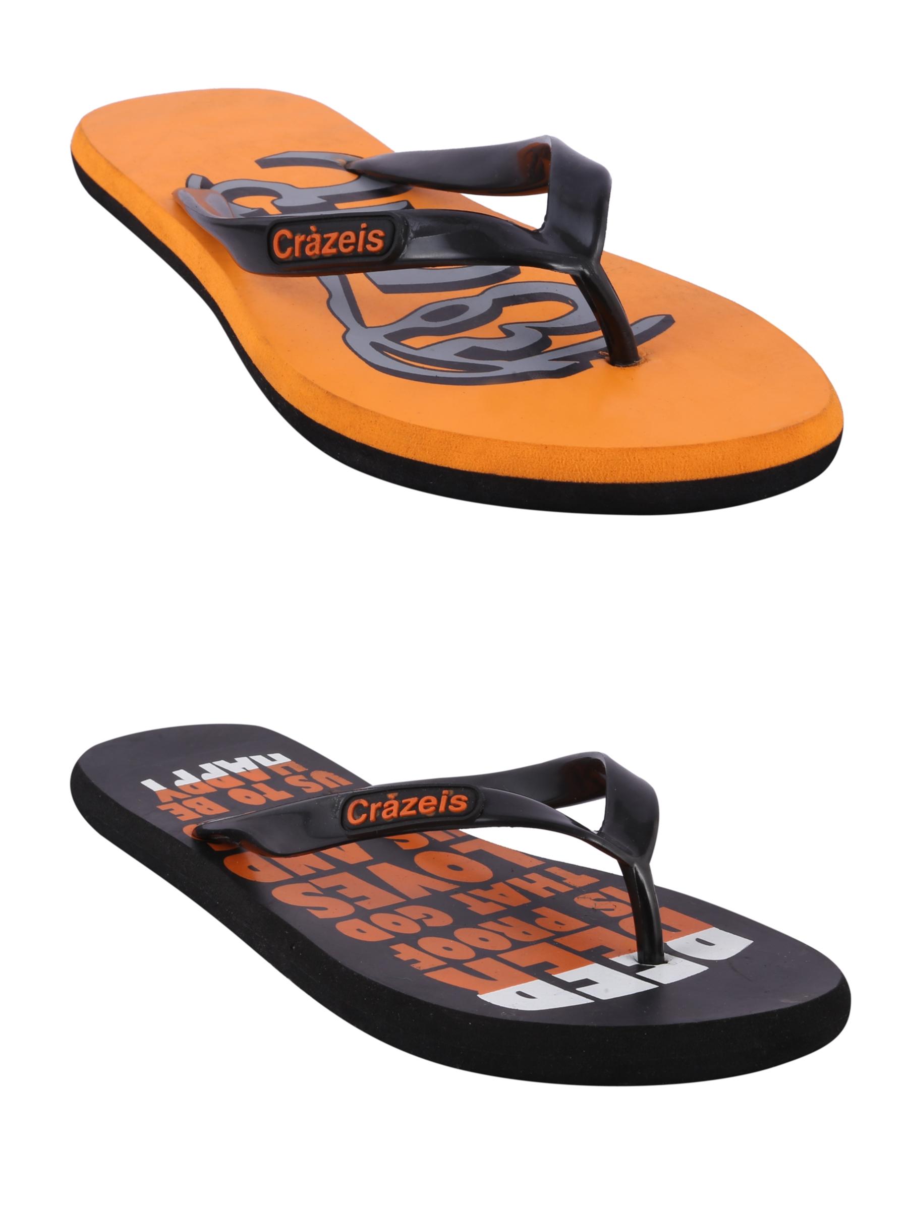 crazeis2 Crazeis Flip-flops Pack Of 2 For Men-019