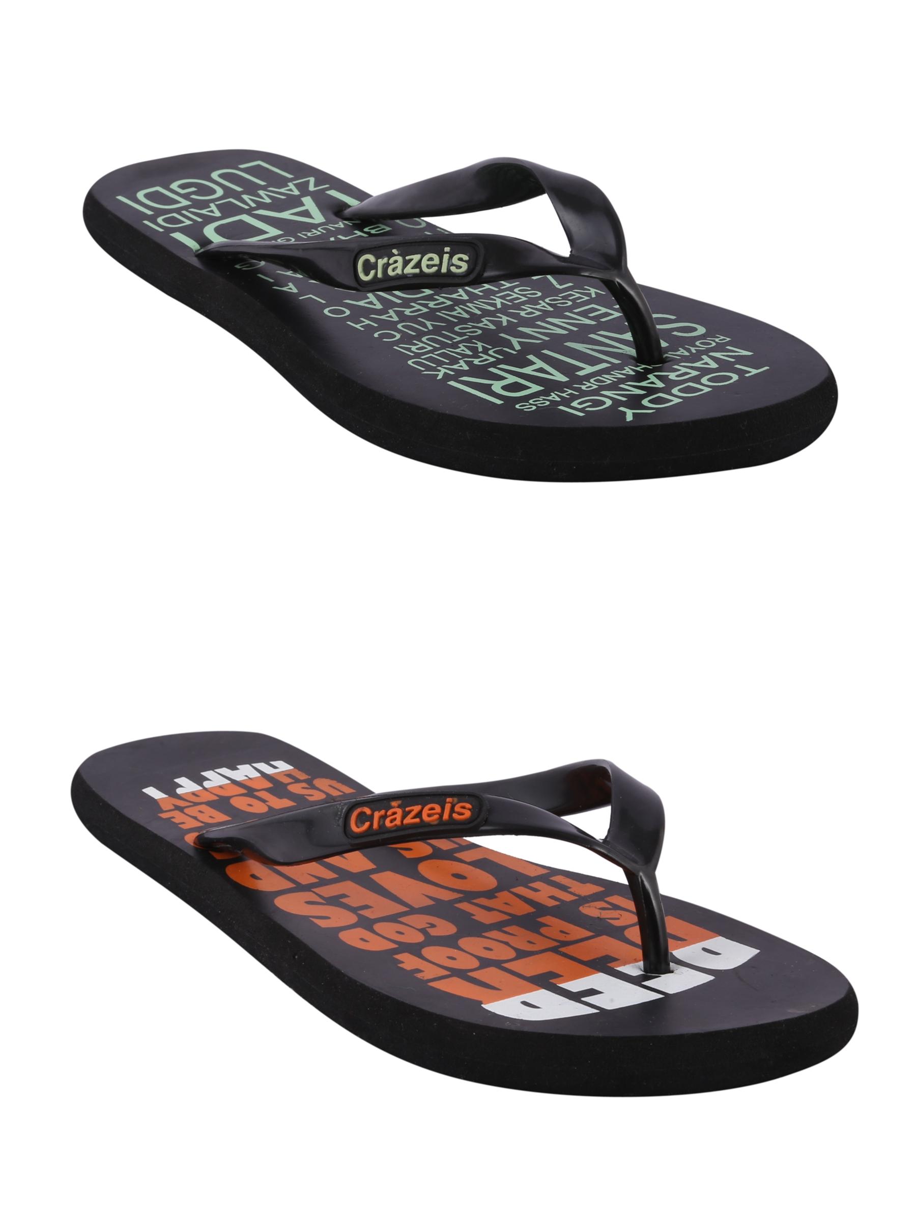 crazeis2 Crazeis Flip-flops Pack Of 2 For Men-024