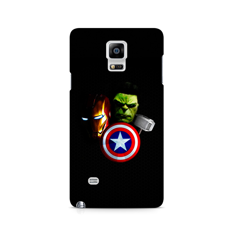 thereminiscence1 Samsung Galaxy Note 4 Mobile Back Cover Avengers