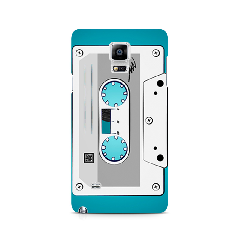 thereminiscence1 Samsung Galaxy Note 4 Mobile Back Cover Casette