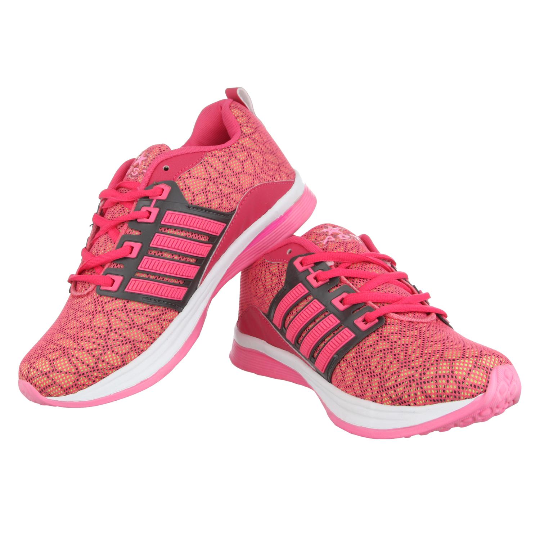 delhibazzar2 A Star Running Shoes For Women  (pink)