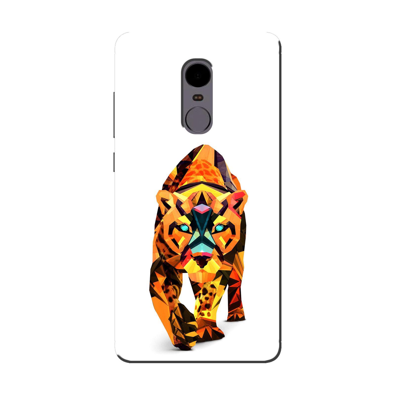 sairafashions Wild Thunder Mi Redmi Note 4 Mobile Back Cover Case And Designer Printed Hard Flexible Mobile Case Cover  - 1156