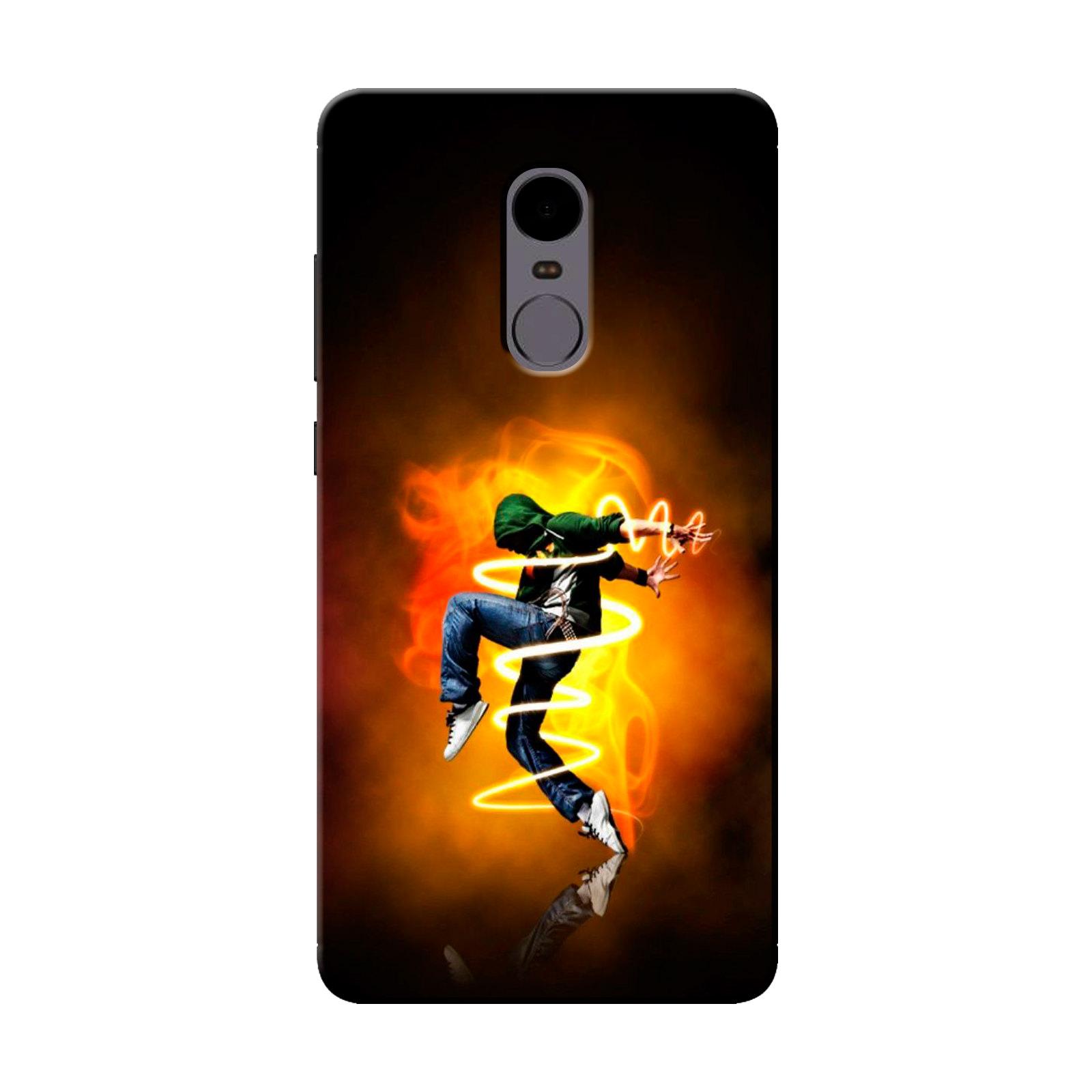 sairafashions Wild Thunder Mi Redmi Note 4 Mobile Back Cover Case And Designer Printed Hard Flexible Mobile Case Cover  - 1146
