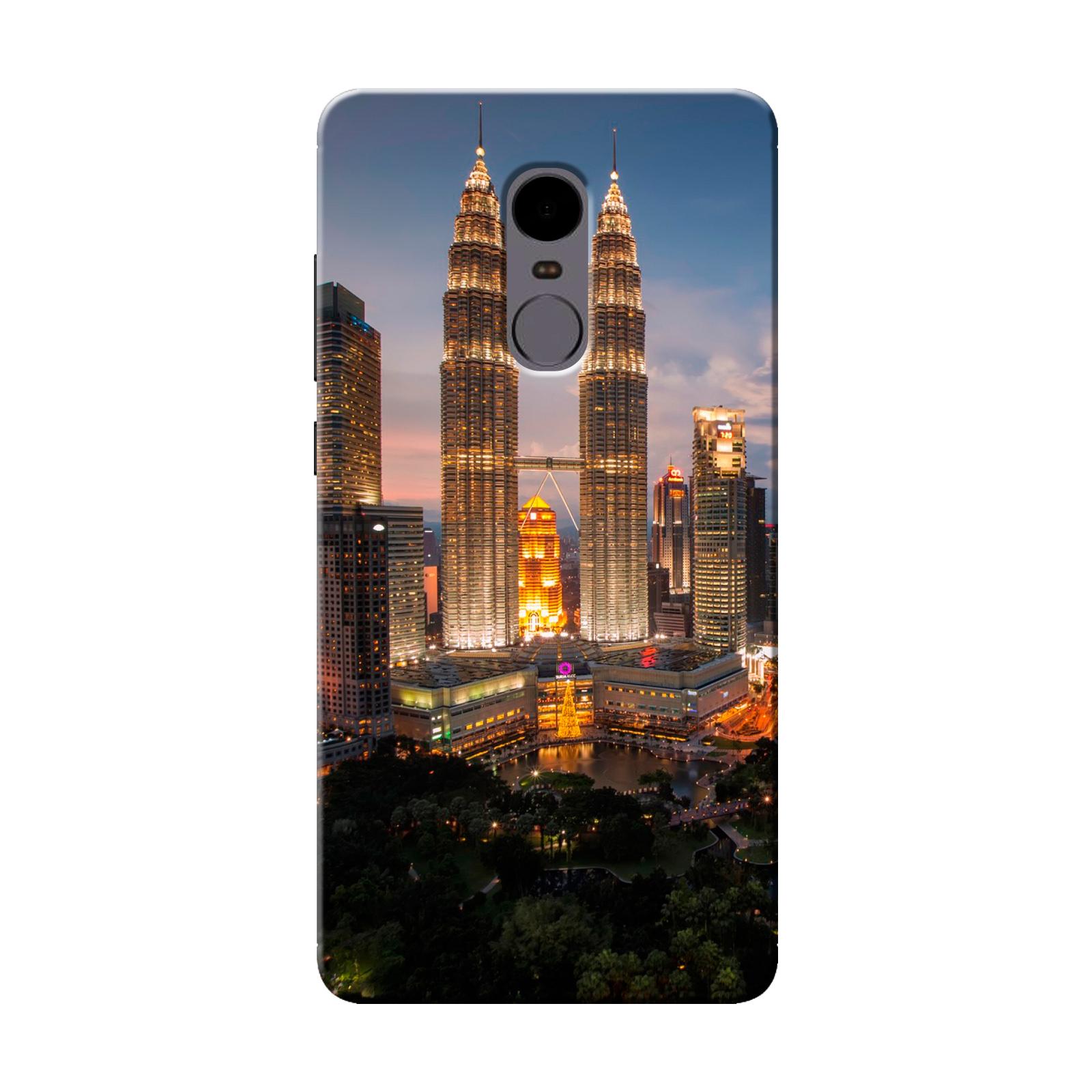 sairafashions Wild Thunder Mi Redmi Note 4 Mobile Back Cover Case And Designer Printed Hard Flexible Mobile Case Cover  - 1127