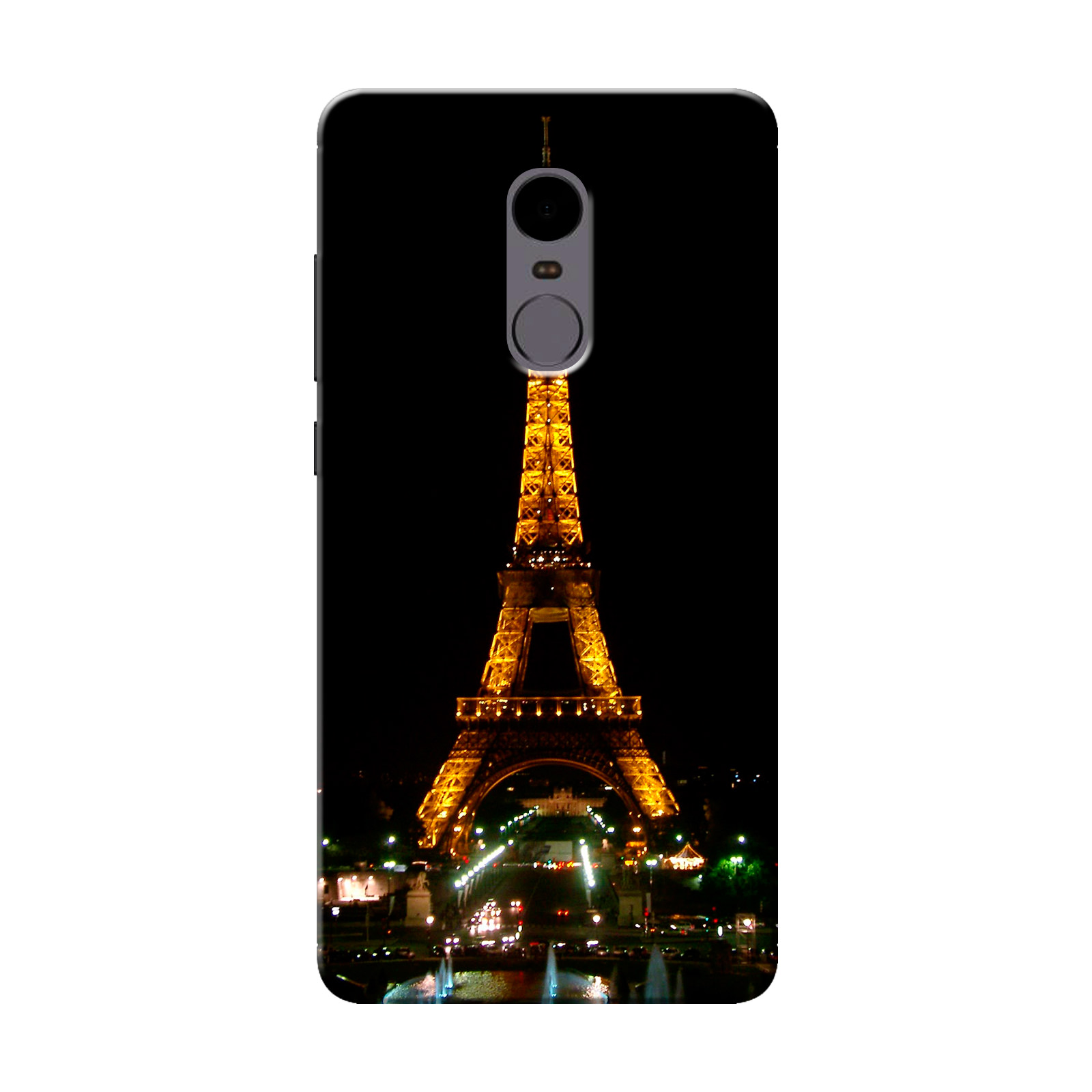 sairafashions Wild Thunder Mi Redmi Note 4 Mobile Back Cover Case And Designer Printed Hard Flexible Mobile Case Cover  - 1117