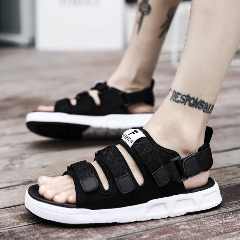 brotherenterprise Men Sandals  Anti Skid Outdoor Fashion All Match Sandals155