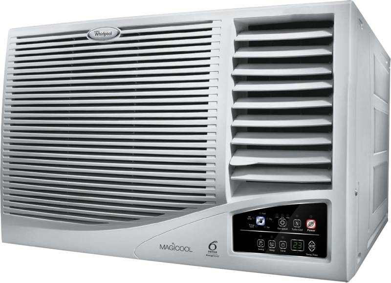Whirlpool 1.5 Ton 3 Star Window AC - White  (WAC 1.5 T MAGICOOL COPR 3S, Copper Condenser) price in India.