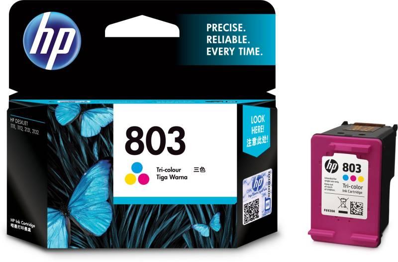 HP 803 Tri-Color Ink Cartridge price in India.