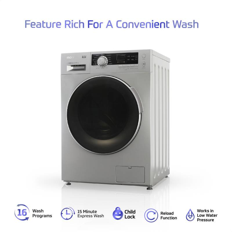 MarQ by Flipkart 10.2 kg with Inverter Technology Fully Automatic Front Load Washing Machine with In-built Heater (MQFLDG10)