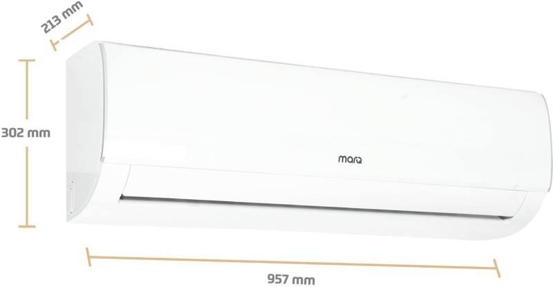 MarQ by Flipkart 1.5 Ton 3 Star BEE Rating 2018 Inverter AC (FKAC153SIA, Copper Condens)