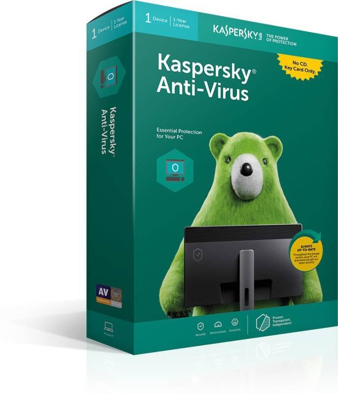 Kaspersky Anti-Virus 2015 3 PC 1 Year