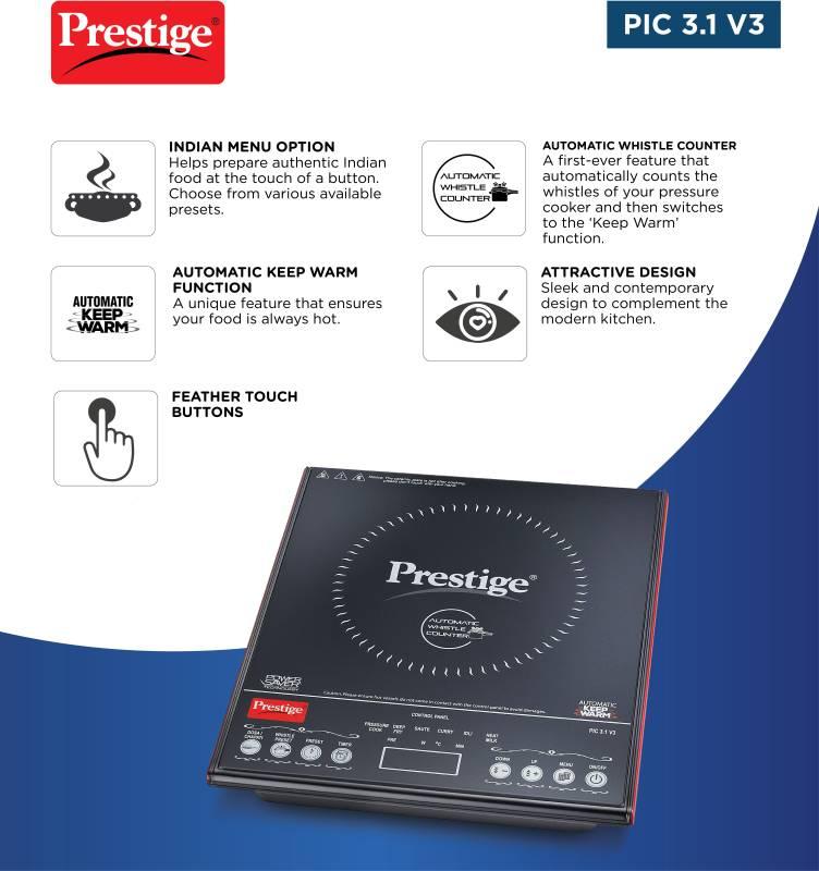 Prestige 41944 Induction Cooktop